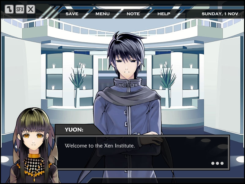 X-note screenshot