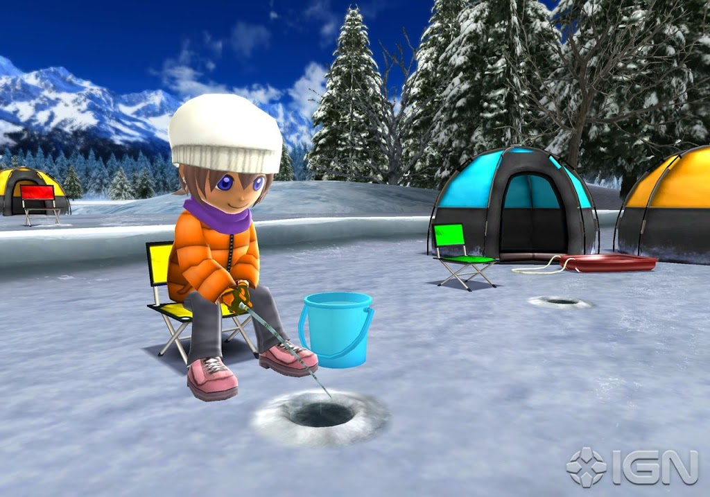 Let 39 s fish hooked on inspired fishing game musings chic for Ice fishing games free