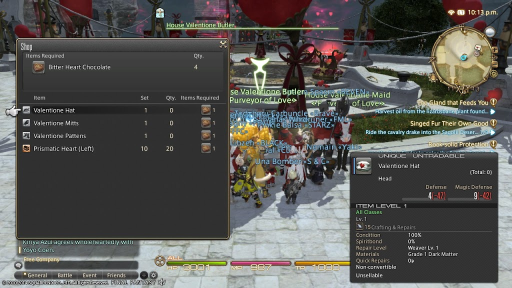 Final Fantasy XIV Valentione's Event Tutorial + Impressions