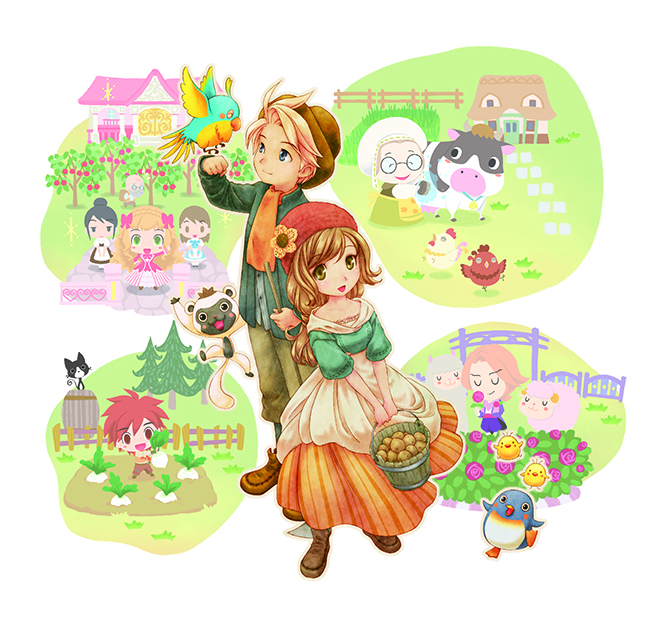 story of seasons title art
