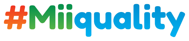 #Miiquality logo