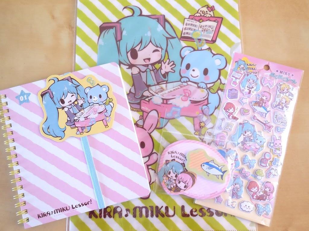 Kira Miku Lesson stationery series