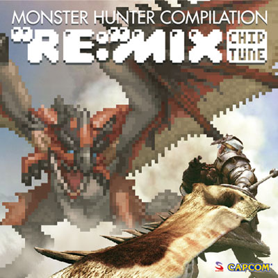 "Monster Hunter Compilation ""Re:"" Mix Chiptune album cover"