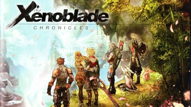 Xenoblade Chronicles art