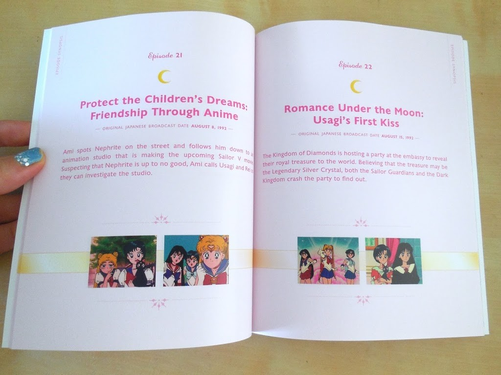 Sailor Moon Season 1, Set 1 LE BD/DVD Combo Pack Review booklet 1