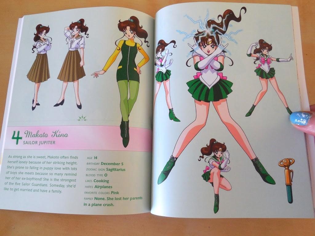 Sailor Moon Season 1, Set 1 LE BD/DVD Combo Pack Review booklet 2