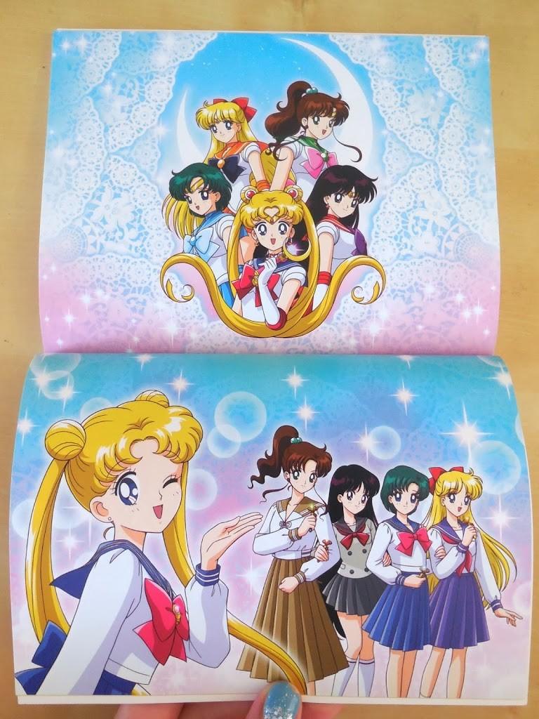 Sailor Moon Season 1, Set 1 LE BD/DVD Combo Pack Review booklet 3