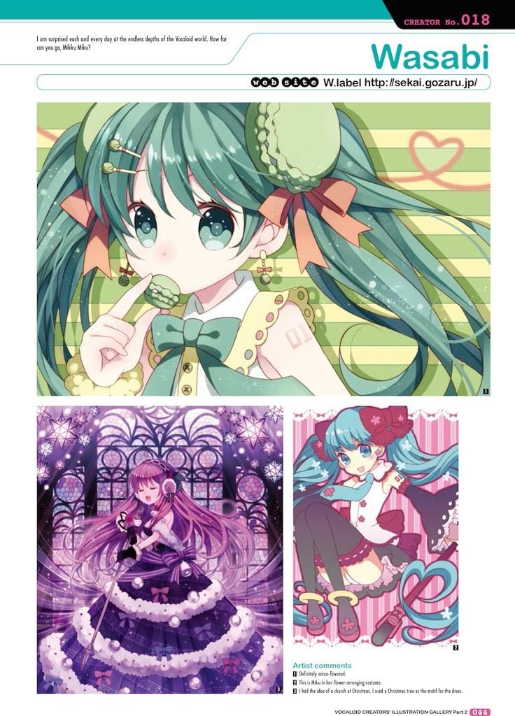 Hatsune Miku Graphics: Vocaloid Comics & Art Vol  2 Review