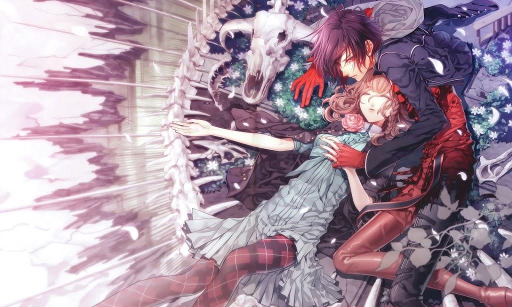 Amnesia otome game artwork