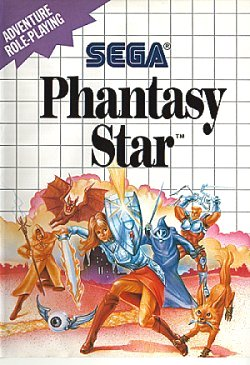 Phantasy Star cover art