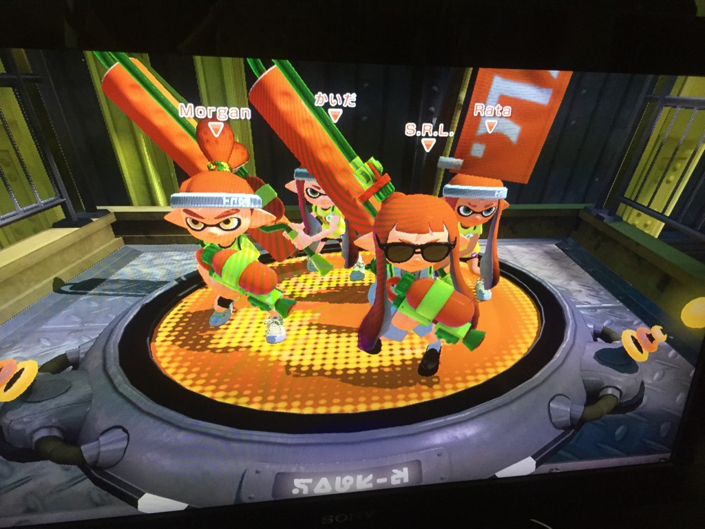 Splatoon Global Testfire Nintendo Employee lab coat