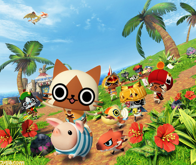 Monster Hunter Diaries: Poka Poka Airou DX official art