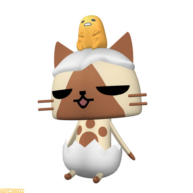 Monster Hunter Diaries: Poka Poka Airou Village DX Felyne Gudetama costume