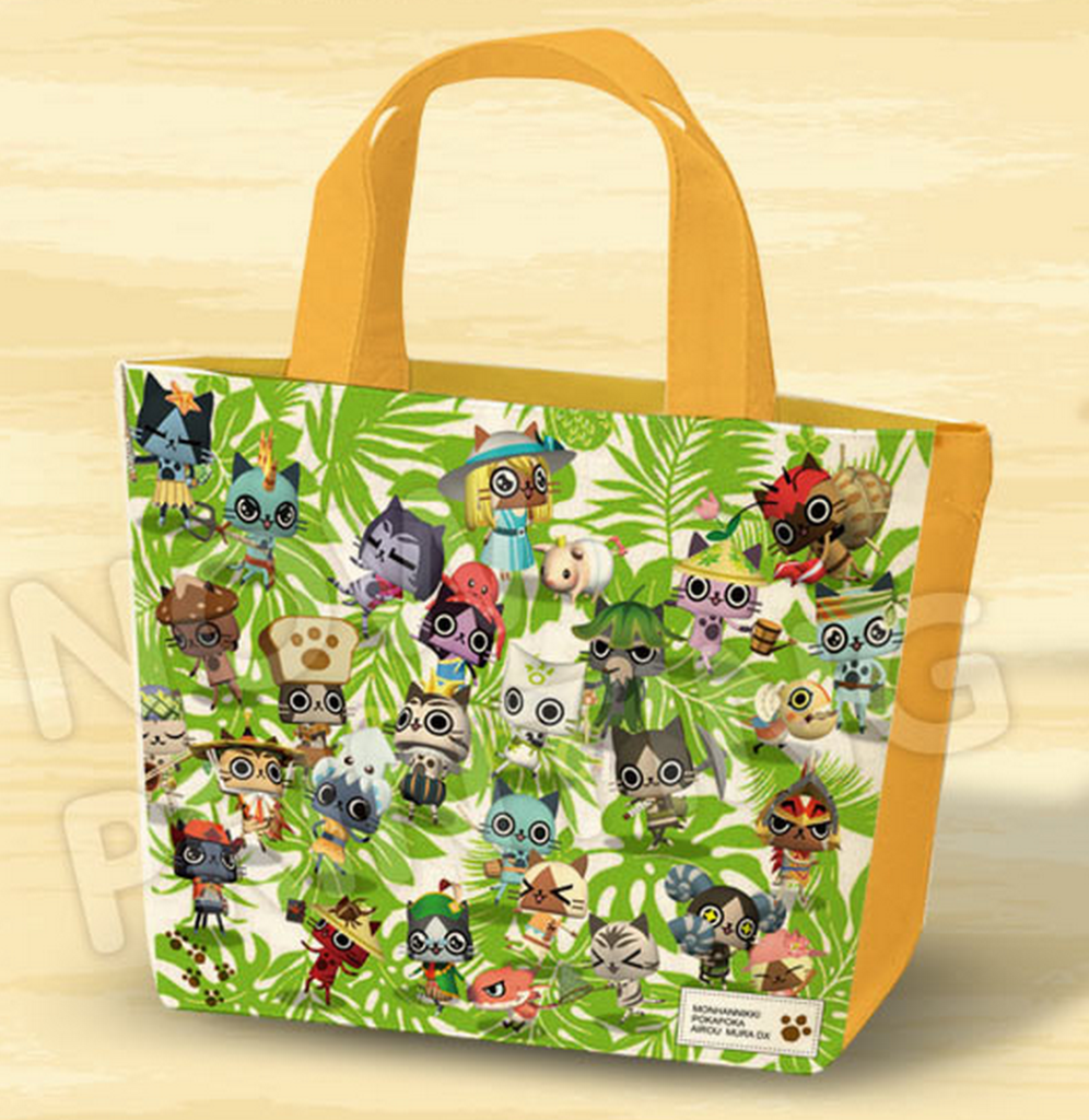 Monster Hunter Diaries: Poka Poka Airou Village DX tote bag