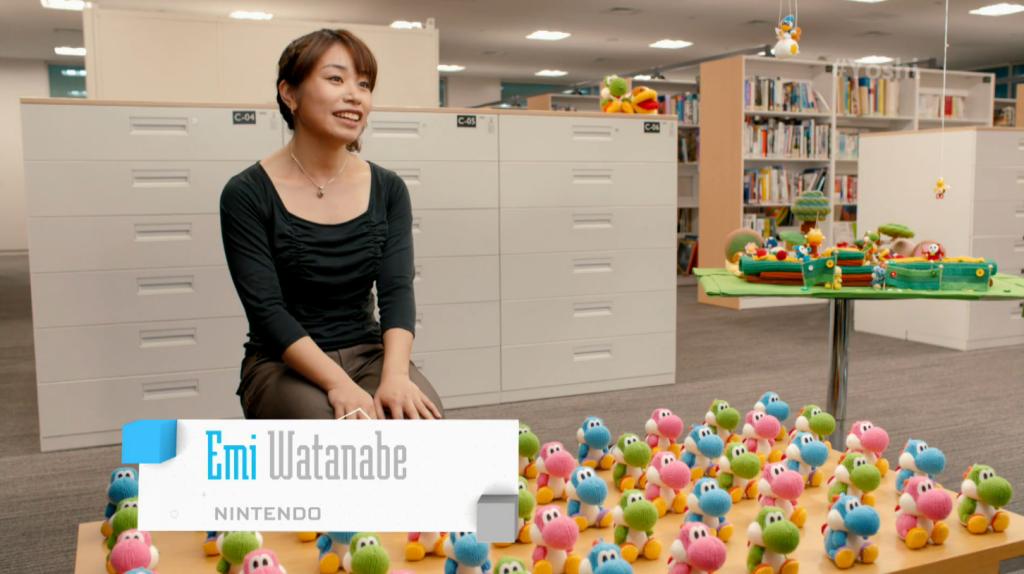 Yoshi's Woolly World Emi Watanabe E3