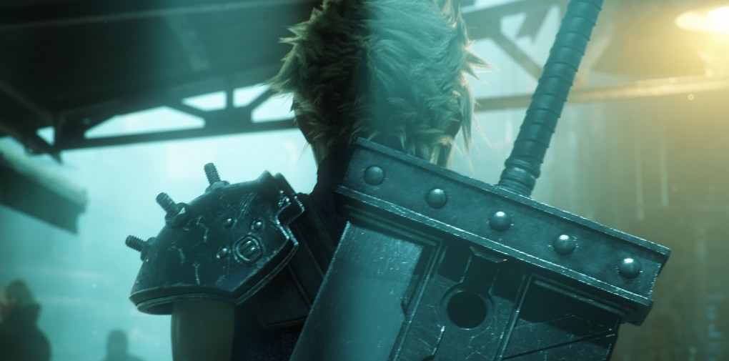 Final Fantasy VII Remake E3 Cloud