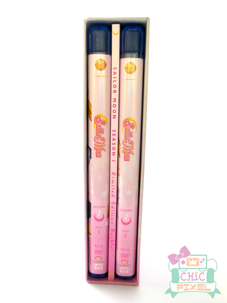 Sailor Moon Season 1 Boxed Set Chic Pixel