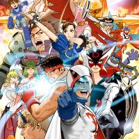 Tatsunoko vs Capcom official art