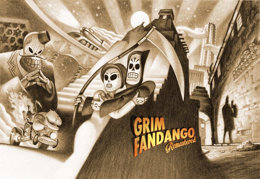 Grim Fandango Remastered art
