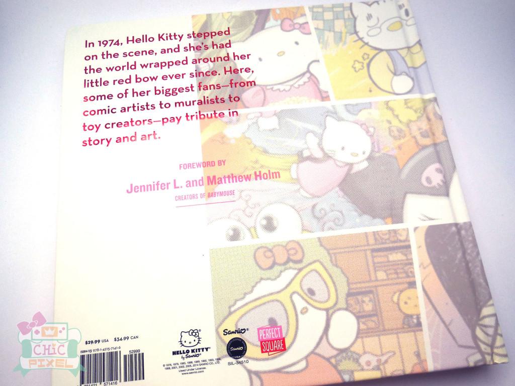 Hello Kitty Hello 40 book back cover