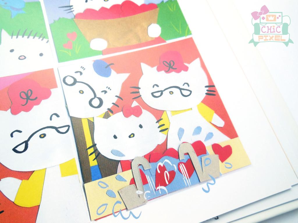 Hello Kitty Hello 40 book page sample