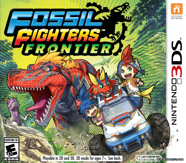 Fossil Fighters Frontier boxart
