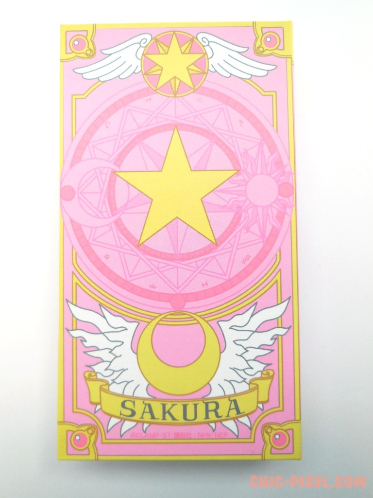 Star Key Necklace Box Back
