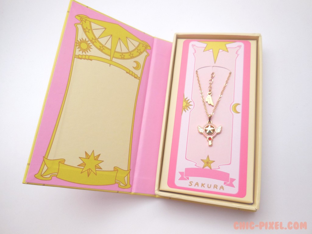Card Captor Sakura Star Key Necklace