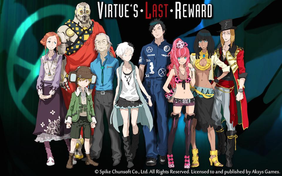Virtue's Last Reward key art