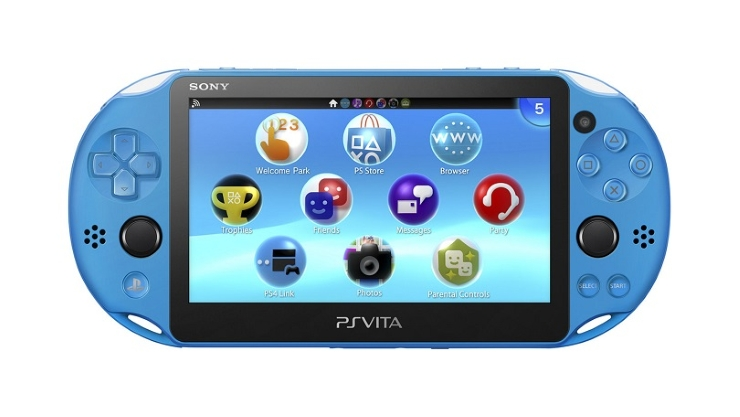 Aqua Blue New PS Vita 2000