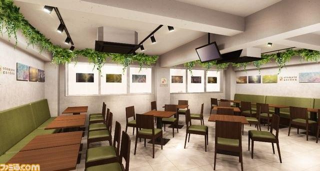 Otomate Garden Amnesia cafe interior