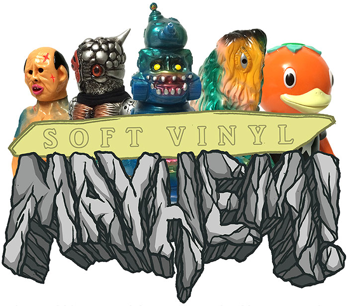 Soft Vinyl Mayhem logo