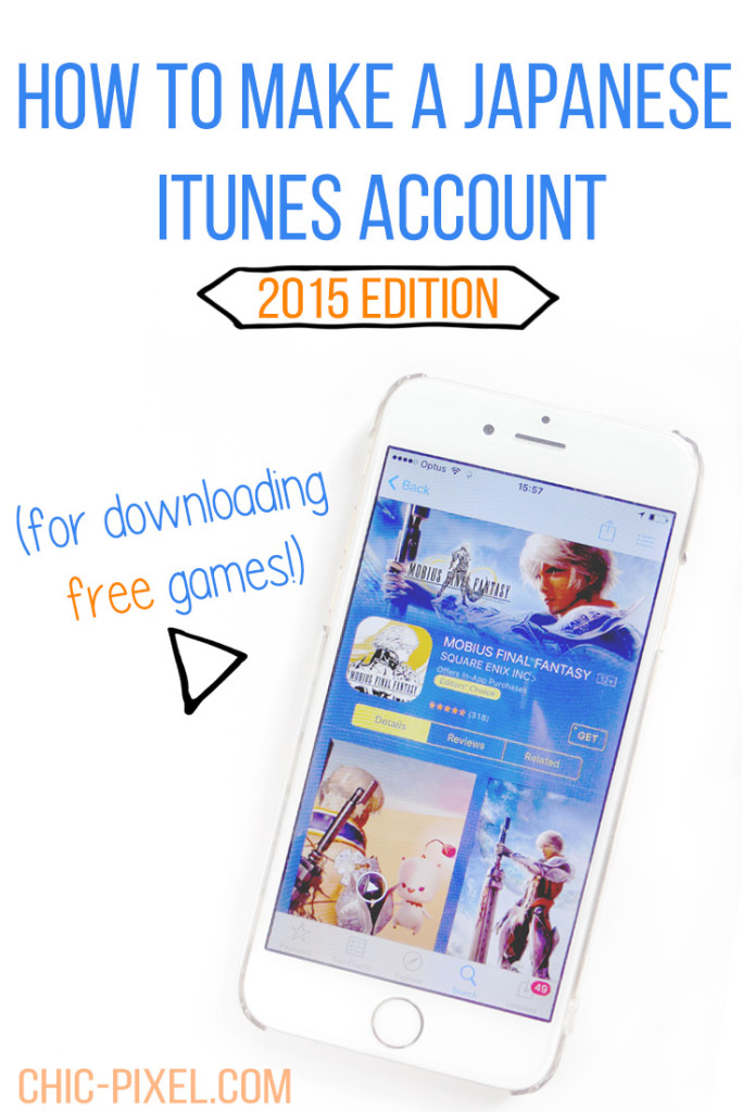 How to Make a Japanese iTunes Account to Download Free Games 2015