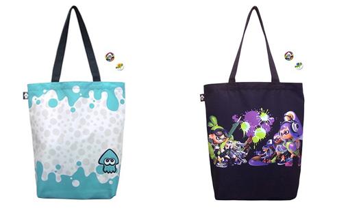 Splatoon Tote Bags