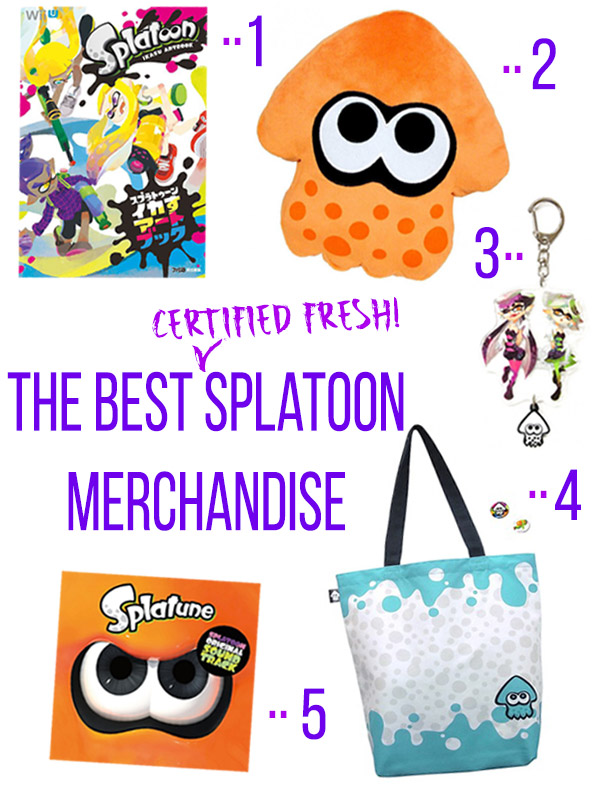 The Best Splatoon Merchandise to Satisfy Your Inkling Craving