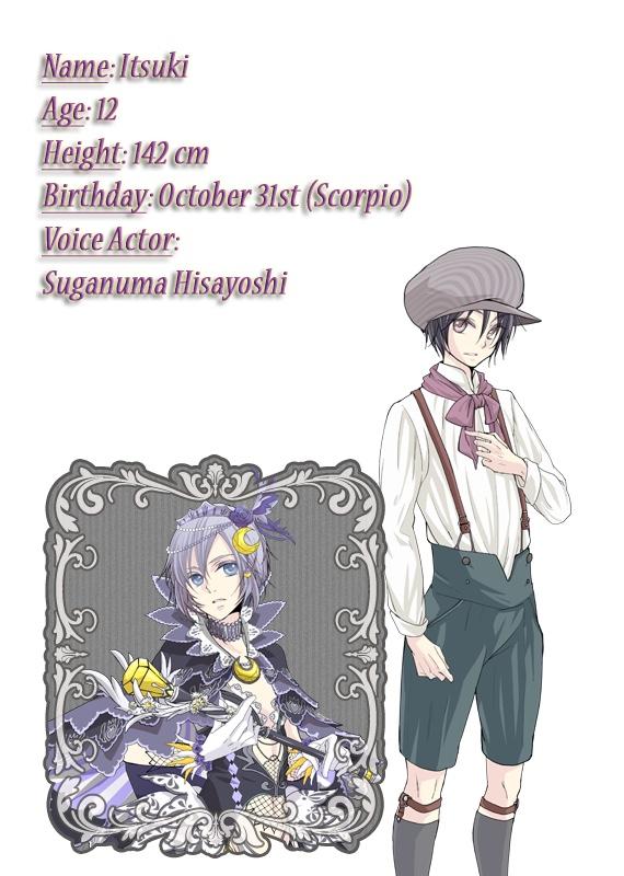 Witch Boy Magical Piece Itsuki
