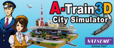 A-Train 3D City Simulator 3DS