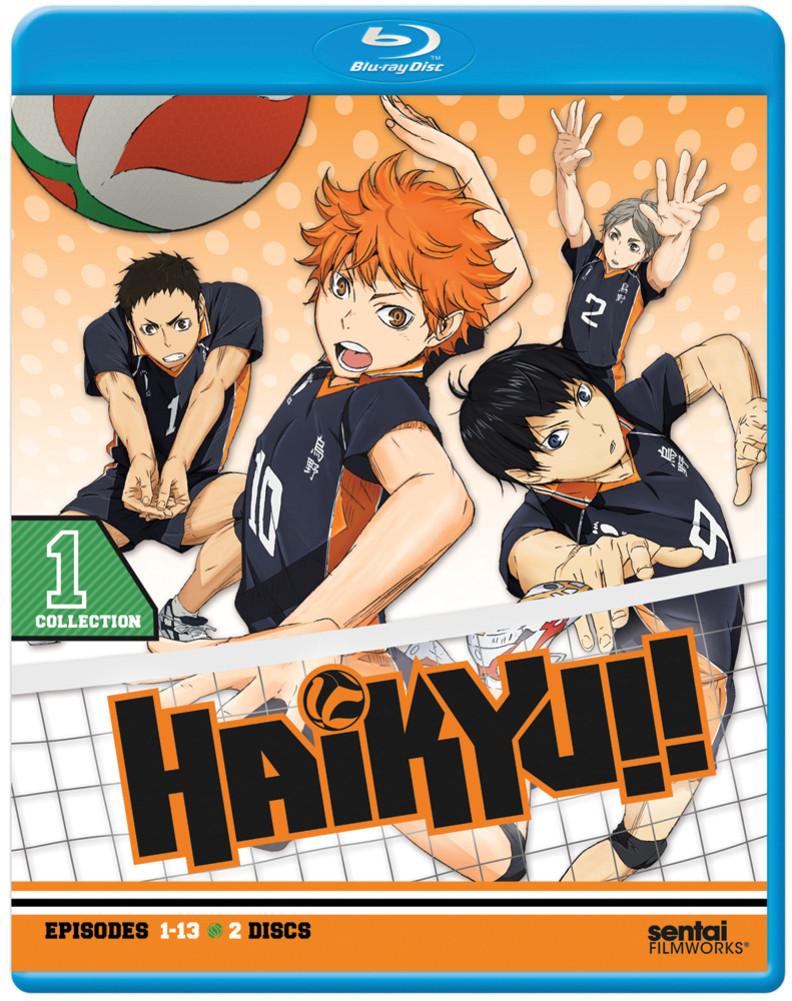 Haikyu!! season 1 Blu-ray