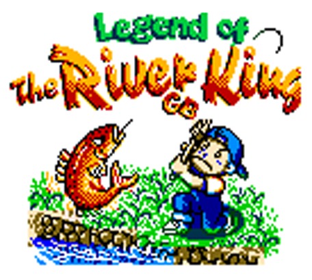 Legend of the River King GBC title screen