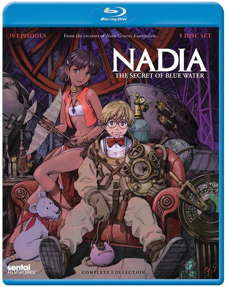 Nadia Blu-ray