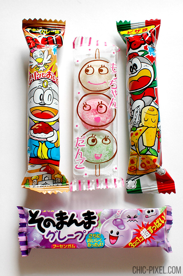 Oyatsu Cha Cha Cha Japanese snack subscription box Umaibo and Japanese sweets