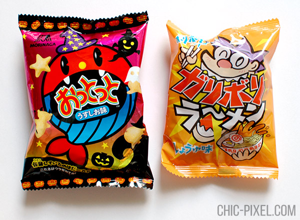 Oyatsu Cha Cha Cha Japanese snack subscription box Ottotto and ramen snack
