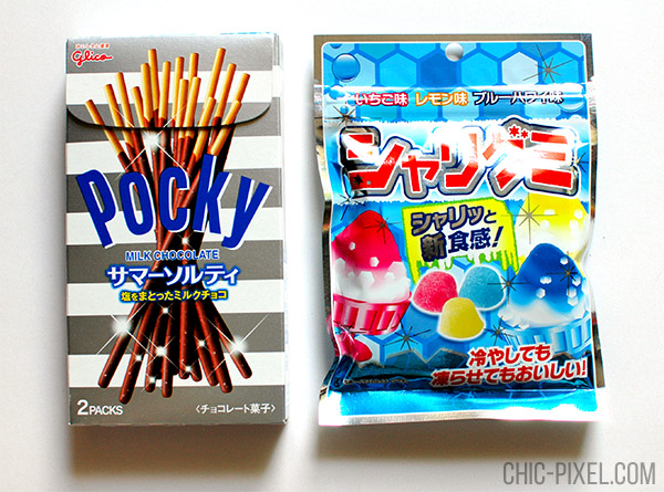 Oyatsu Cha Cha Cha Japanese snack subscription box Pocky and gummy