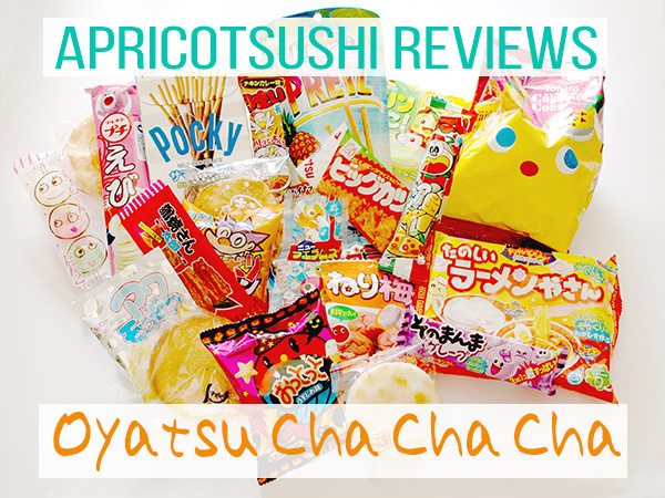 Oyatsu Cha Cha Cha Japanese snack subscription box review