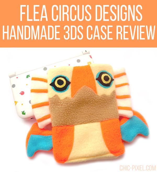 Yian Kut Ku Handmade 3DS Case Flea Circus Designs
