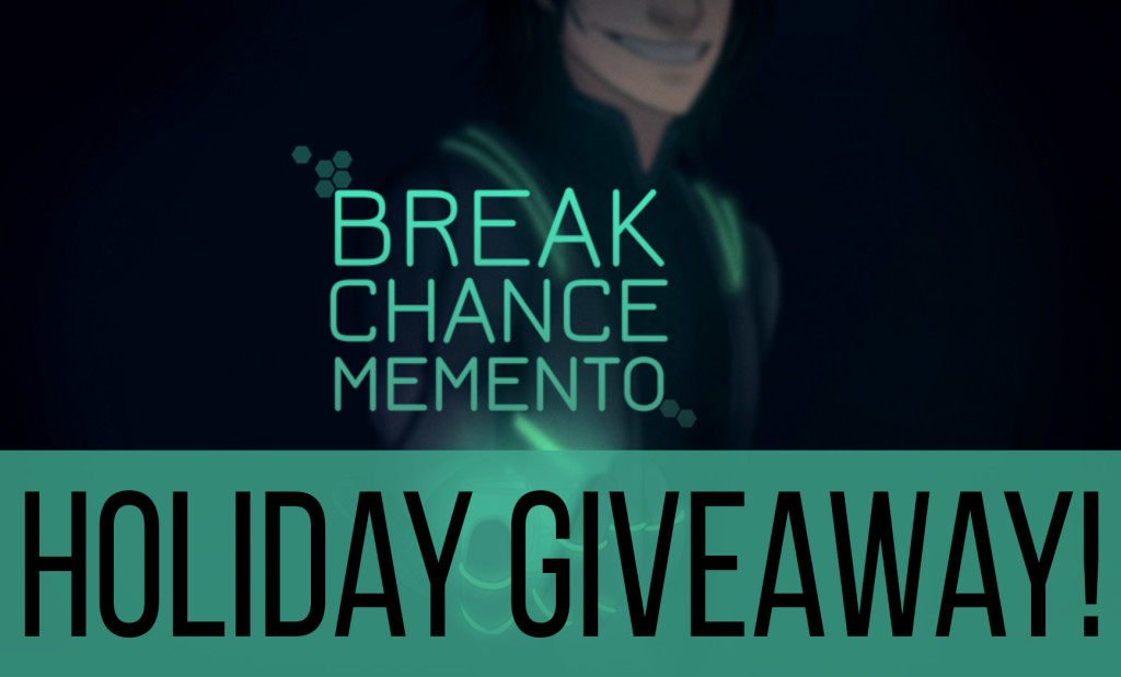 Break Chance Memento Chic Pixel Holiday Giveaway
