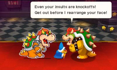 Mario and Luigi Paper Jam screenshot