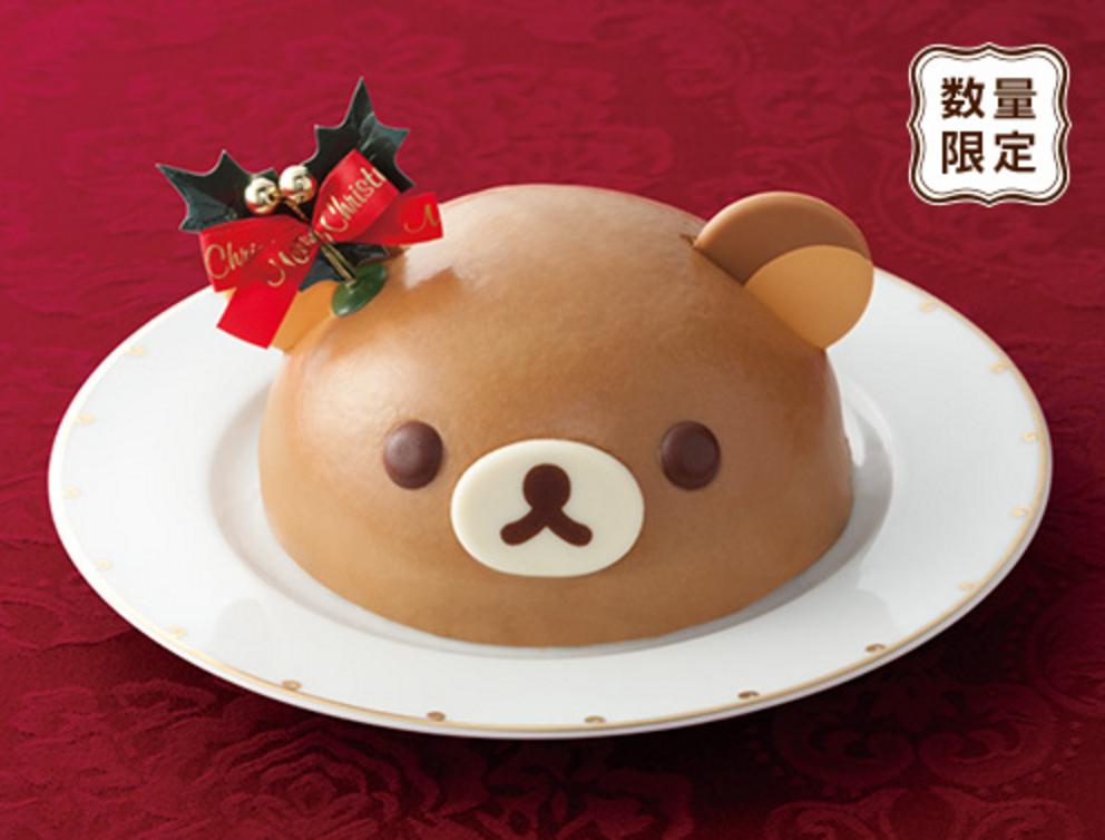 Rilakkuma Christmas cake Lawson 2015