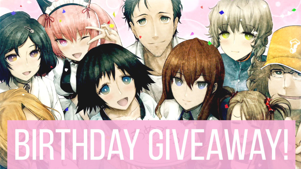 Steins;Gate Birthday Giveaway