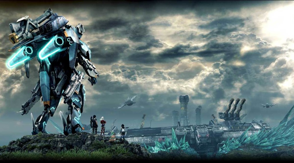 Xenoblade Chronicles X art